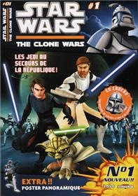 Star Wars The Clone Wars Mag 01