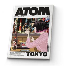 ATOM 16 (SC) La capitale japonaise vue par les plus grands mangakas